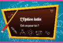 L'option latin en 5ème: pourquoi pas?